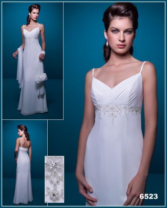 Wedding dress 6523 Grace