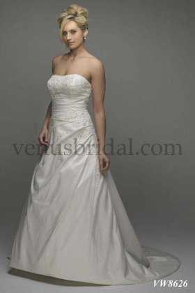 Wedding dress by Venus Amanda VW8626 front