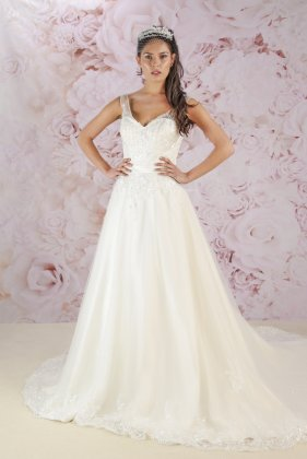 Christina wedding dress front