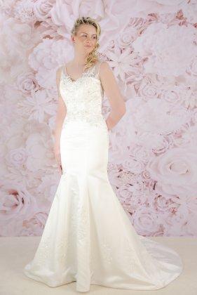 Bliss wedding dress - front