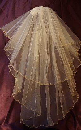 Ivory veil - sale item