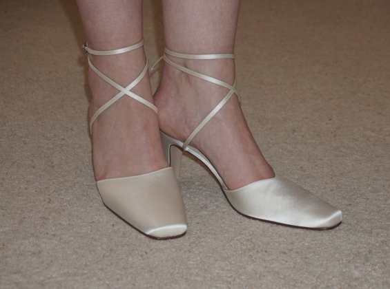 Posh wedding shoe 1