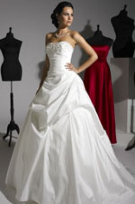 Wedding dress Tessa d5022 front